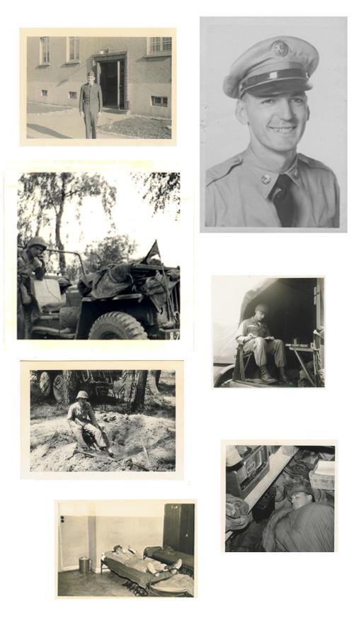 George Stratton 8th Army 1956