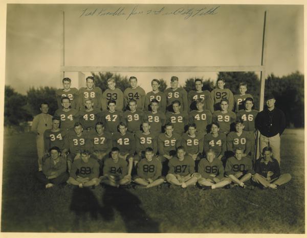 George Stratton 1950 Roosevelt High School Football
