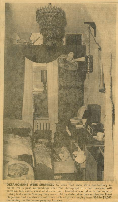 George Stratton 1973 McAlester Prison Riot